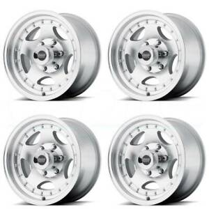 15x8 American Racing Ar23 5x4 75 5x120 65 19 Machine Wheels Rims Set 4