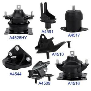 Engine Trans Mount Full Set 7pcs For 2004 05 06 07 2008 Acura Tsx Automatic