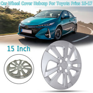 15 Silver Car Wheel Cover Hubcap For Toyota Prius 16 18 15 Inch