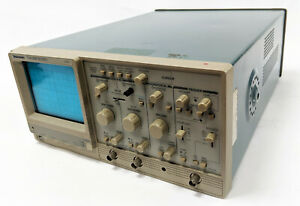 Tektronix Tas250 Tas 250 Two channel Analog Oscilloscope 50 Mhz Basic Tested
