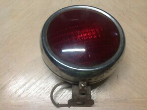 Arrow A 440 Tail Light Turn Lamp Vintage Auto Truck 6v Glass Red Lens