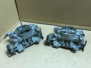 Carter 3351s Afb Carburetor Lot Of 2 For Parts Or Repair Rebuild