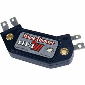 Pertronix D72000 Flame Thrower Hei Iii 4 Pin Ignition Module Fits Gm