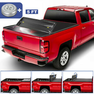 Auto Parts And Vehicles Oedro Tri Fold Truck Tonneau Cover Fit For