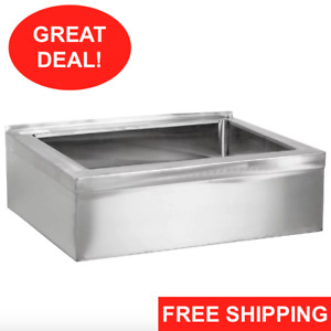 25 Stainless Steel Nsf One Compartment Floor Mop Sink 20 X 16 X 6 Bowl Nsf