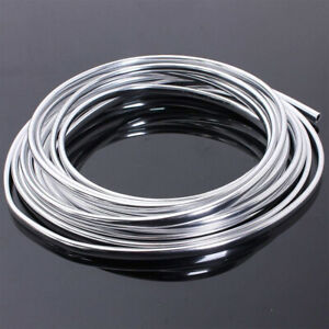 49ft Car Door Edge Trim Molding Chrome Seal Strip Scratch Protector Guard Decor