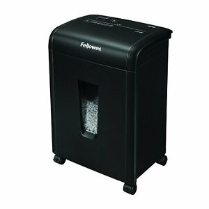 Fellowes Refurbished 62mc 10 sheet Micro cut Home And Office Paper Shredder With
