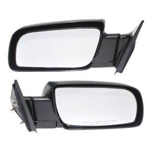Mirror For 1988 1998 Chevrolet C1500 Driver And Passenger Side