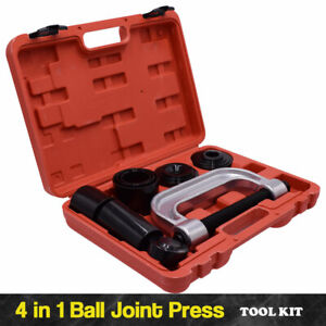 4 In 1 Ball Joint Press 4wd Adapters Set Lower Removal Tool Kit For Car Truck