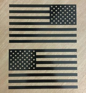 American Flag Sticker Decal mirrored Set Vinyl Die Cut Graphic Fits Jeep