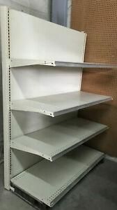 Gondola Shelving 48 x22 x72 Hi 1 4 Shelf Unit Complete