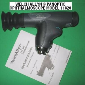 Welch Allyn Panoptic 11820 Ophthalmoscope With Patient Eyecup