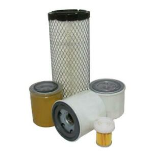 One Complete Service Filter Kit For Kubota L2501 Hst