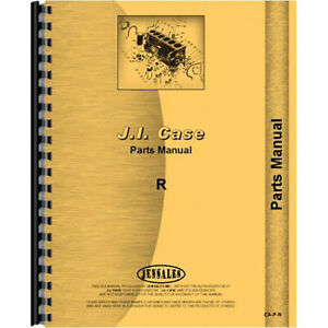 New Case R Tractor Parts Manual