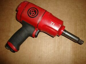 Chicago Pneumatic Cp7748 2tl 1 2 drive 2 anvil Torque Limited Impact Wrench