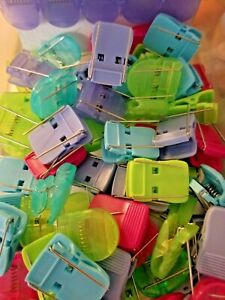 Cubicle Wall Clips Fabric Panels Office Home Color Decor Decorations 85 Pieces
