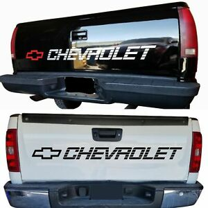 Chevy 1500 454 350 Decals Chevrolet Vinyl Sticker Silverado Bed Tailgate Letters