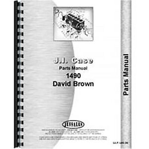 New Case 1490 Tractor Parts Manual