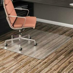 Alera Cm2e442falepl All Day Use Non studded Chair Mat For Hard Floors 46 X 60