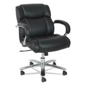 Alera Alems4619 Maxxis Series Big And Tall Leather Chair Supports Up To 350