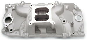 Edelbrock 7161 Performer Rpm Intake Manifold Fits Chevy Bb 396 502 Satin Finish