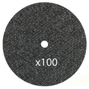100 Pack 5 x 040 x7 8 Cut Off Wheel Metal Stainless Steel Thin Cutting Discs