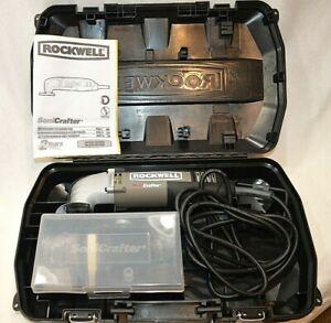 Rockwell Sonicrafter Rk5105k Hf Vs Oscillating Tool Electric 22 Pc Kit Woodwork