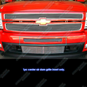 For 2007 2013 Chevy Silverado 1500 07 10 2500 3500 Air Dam Billet Grille Grill