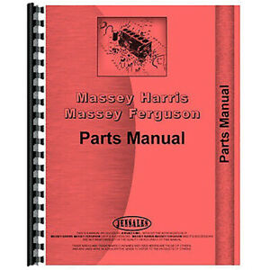 Parts Manual For Massey Ferguson Mf860 Combine includes Both Volumes