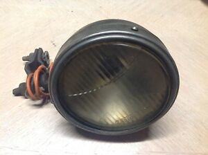 Early Driving Lamp Automobiles Truck Vintage Spot Light Cats eye Glass Parts