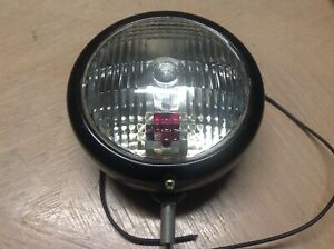 Nos Vintage Driving Lamp Kd 859 6v Truck Automobile Light Ls371 Red Dot Tail Wow