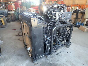 Caterpillar C7 1 Twin Turbo Diesel Engine Power Unit Rebuilt C 7 1 Cat 368 3157