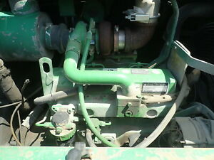 John Deere 4045tf151a Turbo Diesel Engine Low Hours 4 5 4045t Mechanical