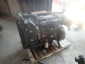 Perkins 1104d 44t Turbo Diesel Engine Power Unit Runs Exc Video 1104c Cat 3054