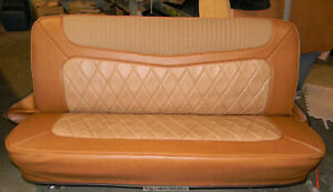 67 72 Chevy Truck Upholstery Large V bar Bench Seat Cover