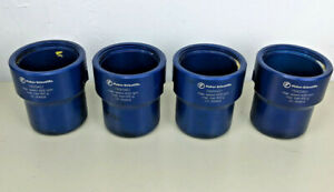 Four Fisher Scientific Centrifuge Buckets 75003451 8 Inserts 4 Brown 4 Green
