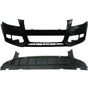 New Bumper Cover Facial Kit Front For Audi A4 Quattro Au1000162 8k0807105gru