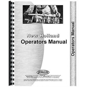 Operator s Manual For Holland 451 Attachment sickle Bar Mower