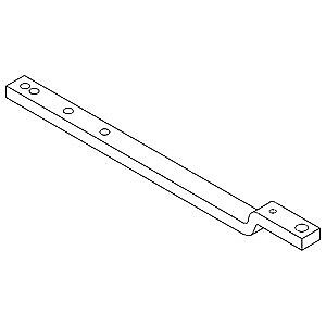 R27692 Drawbar With Offset Made To Fit John Deere Tractor 2510 2520 3010