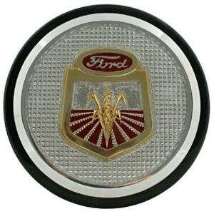 311231 Chrome Hood Emblem For Ford Tractor 501 541 601 611 621 631 641 651 661
