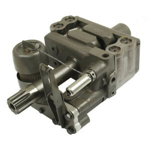 886682m97 Hydraulic Lift Pump With Horiz Valve For Massey Ferguson 135 150 165