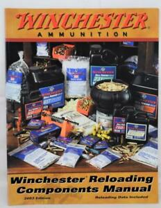 2003 Winchester Ammunition Reloading Componets Manual MINT