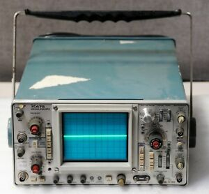 Tektronix 475a Dual Channel Oscilloscope as is for Parts