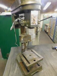 5 Speed Bench Top Drill Press With 2 1 2 Vise