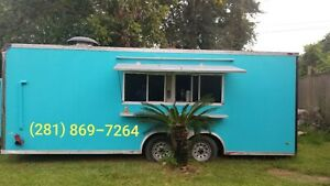 20 Food Trailer Concession Mobile Kitchen Catering Truck