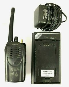 Kenwood Tk 2160 16 Channel Vhf 136 174 Mhz 5w Portable Radio W Charger 2