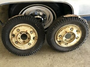 Farmall International Cub Front Wheel Weights wheels tires Not Included