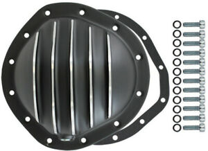 Black Aluminum Finned Chevy Gm 12 Bolt Diff 8 75 Rg Differential Cover Rear