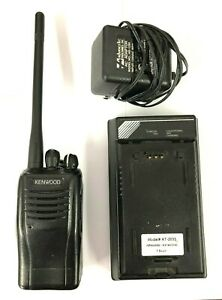 Kenwood Tk 2360 k 136 174 Mhz Vhf Two Way Radio 5w 16 Channel W Charger