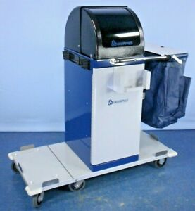 Geerpres Evs 3885 Space Station Healthcare Janitor Janitorial Cleaning Cart